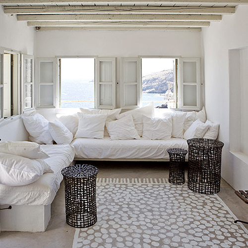 decora o da casa em tons de branco a nossa vida. Black Bedroom Furniture Sets. Home Design Ideas