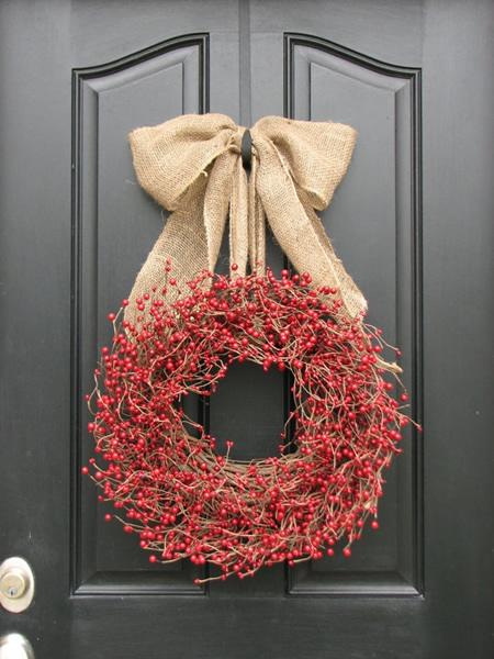 As Mais Belas Coroas De Natal Para Decorar A Casa A