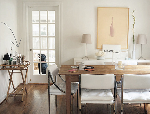 15 sugestões para a decoração para a sala de jantar  A Nossa Vida