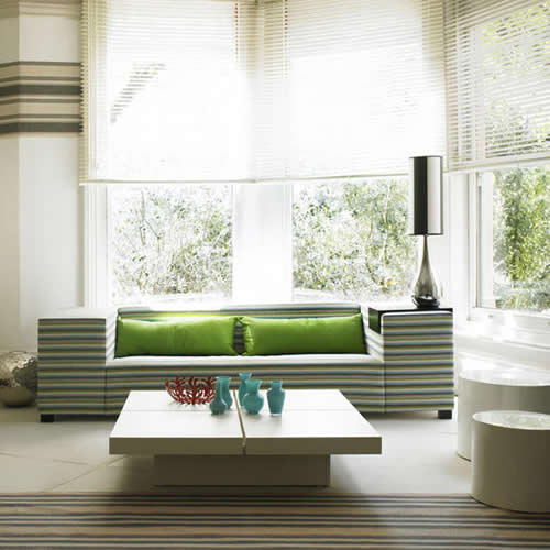 Decoracao De Sala Verde Com Marrom ~ Decoração da casa com verde  A Nossa Vida