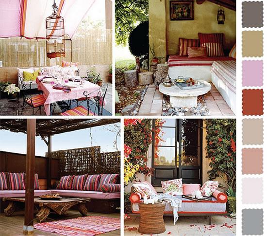 Ideias E Cores Para Decorar O Jardim Exterior Da Casa