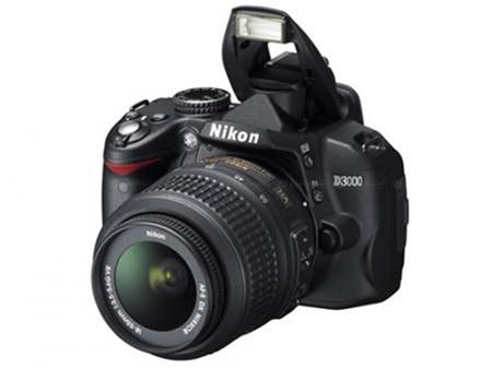 Máquina fotográfica reflex Nikon D3000