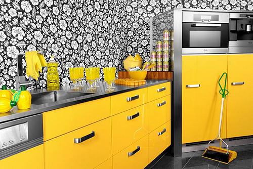 armario de cozinha moderno