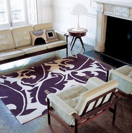 Um tapete ousado faz a diferença