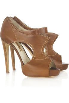 Botas e sapatos de plataforma
