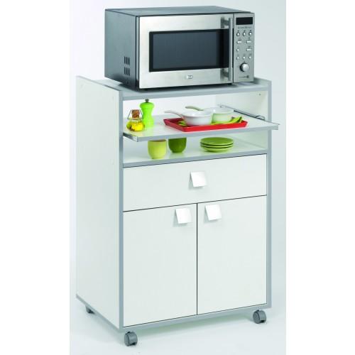 Movel de apoio na cozinha a nossa vida for Mueble microondas leroy merlin